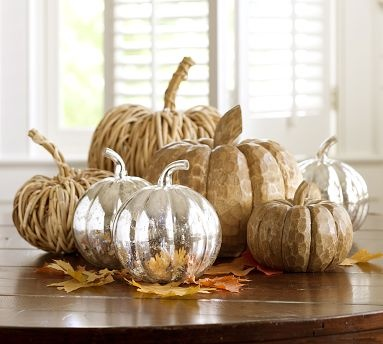 homemade halloween decorations and thanksgiving centerpiece ideas - Pottery Barn Halloween Decorations