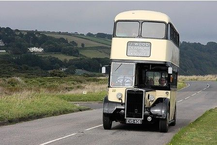 photos of old buses around the world | PICTURES: Celebration of the grand old days of vintage buses