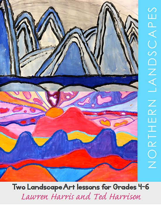Lawren Harris and ted Harrison Art Lesson for kids