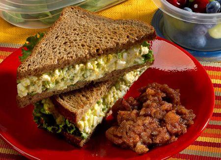 Fitness sendvič bez výčitiek