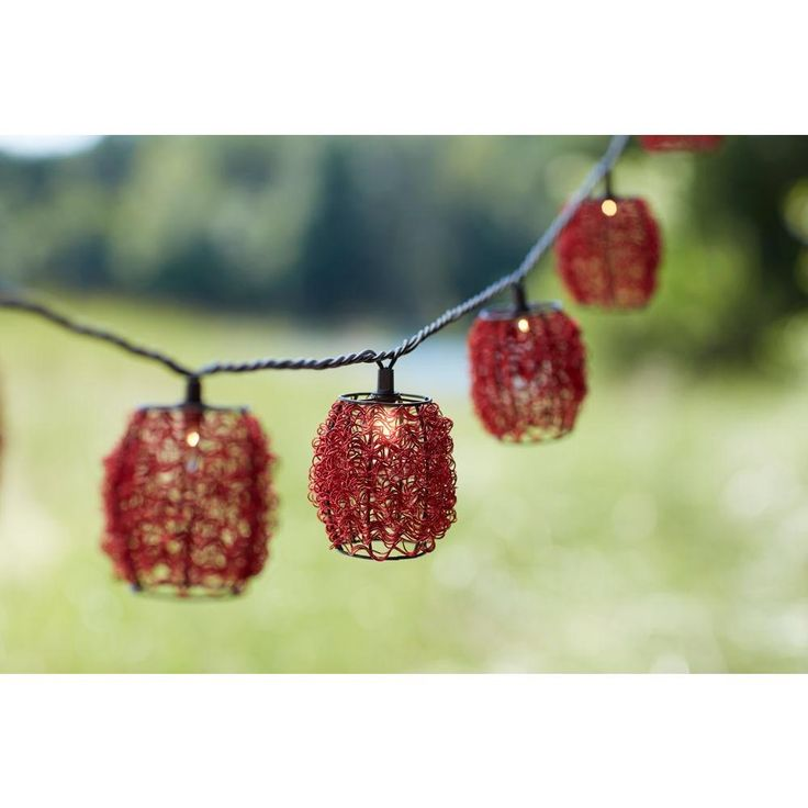 Add an attractive touch to your indoor or outdoor decor with this Chili Wire…