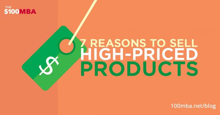 zhannadesign direction: 7 Reasons To Sell High-Priced Products