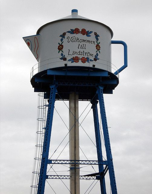 Lindstrom, MN Coffee pot Water Tower
