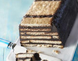 Recette - Gâteau au chocolat petits beurre/chocolat sans cuisson | Notée 4/5