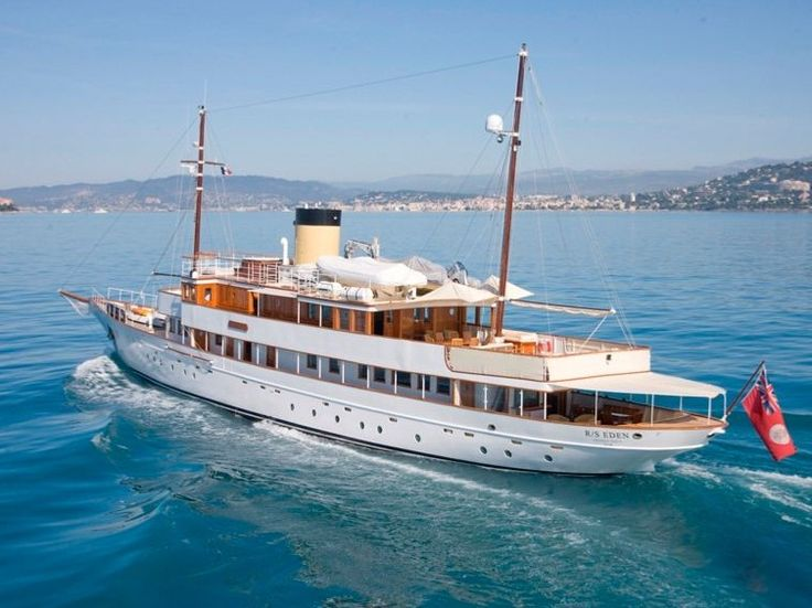 M s eden classic motor yacht refit monaco classic yachts for Vintage motor yachts for sale