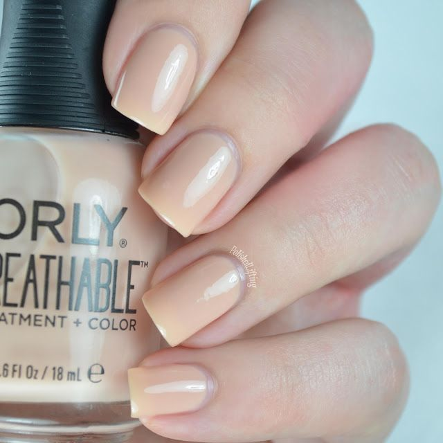 Orly Breathable Treatment Color Nourishing Nude .6 oz