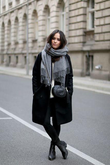 С чем носить пальто: классическое, оверсайз и другие. ФОТО   MODA блог