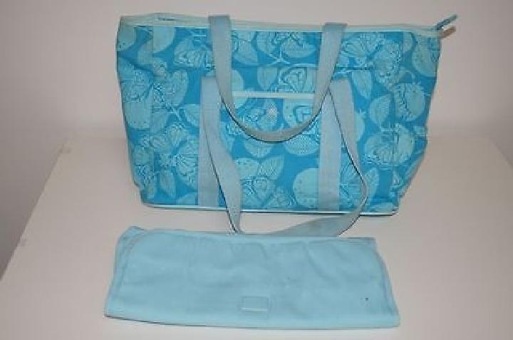 Lilly Pulitzer Blue Diaper Bag