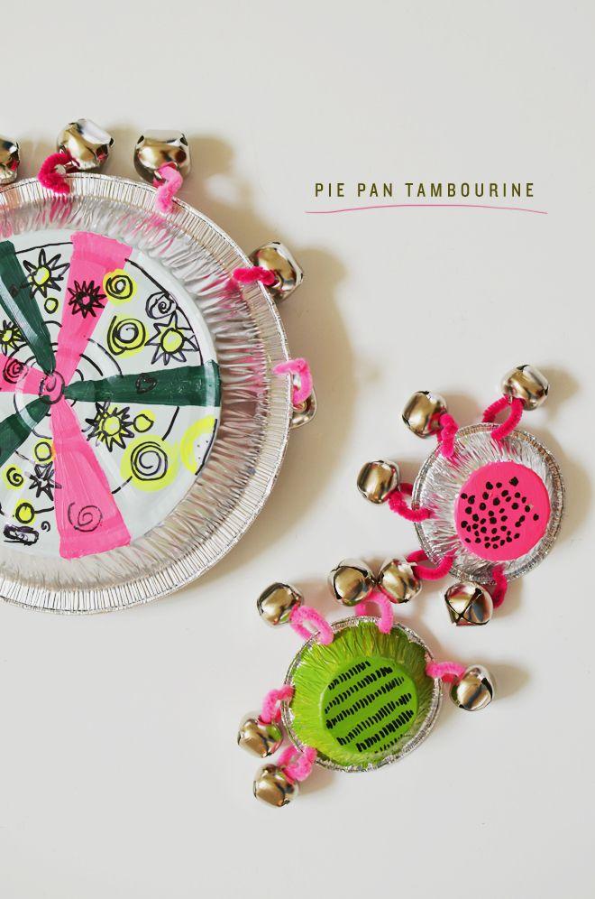 """""""pie pan tambourines"""""""