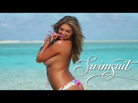 Kate Upton Exclusive Outtakes, SI Swimsuit 2014 - YouTube