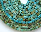 Natural Genuine Turquoise Bead Blue Green