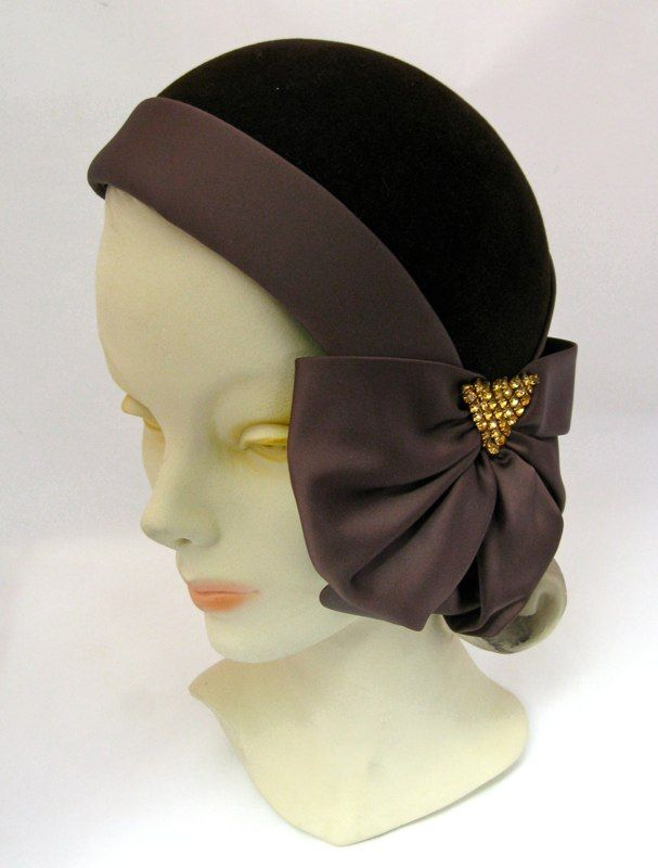 gorgeous cloche hat millinery: Olga & Louise