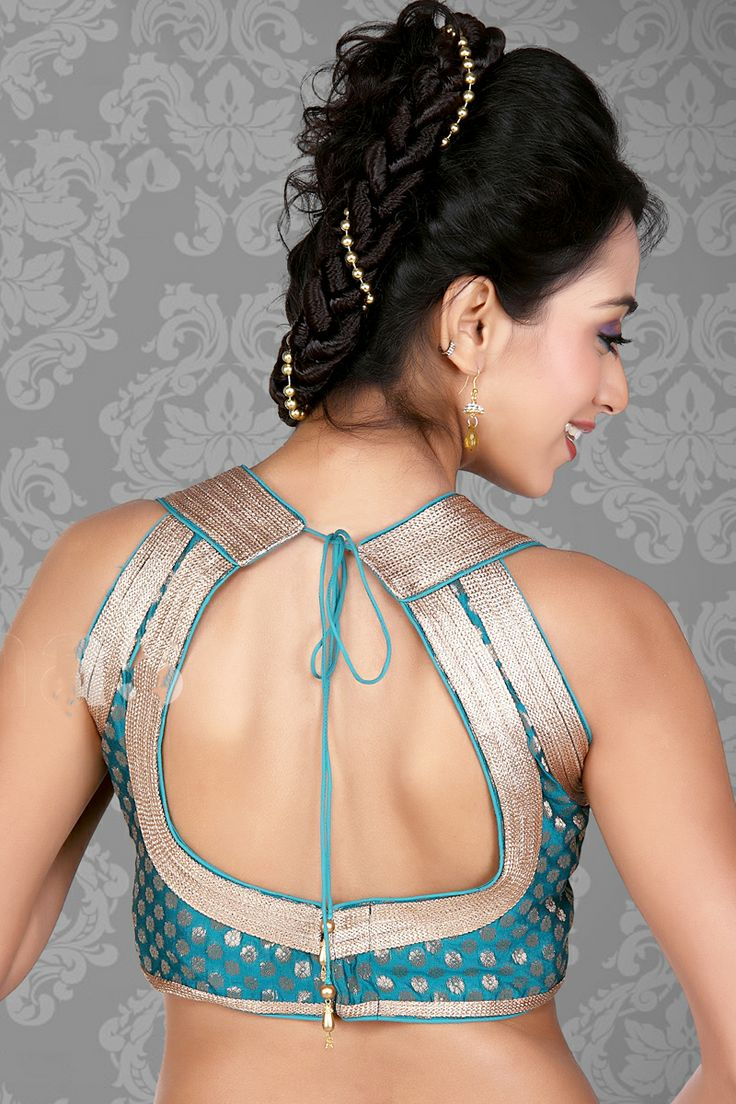 Blouse Style - Blouse Style Designs - Latest Saree Blouse Patterns and Sari Blouse Styles - Lehenga Blouse patterns