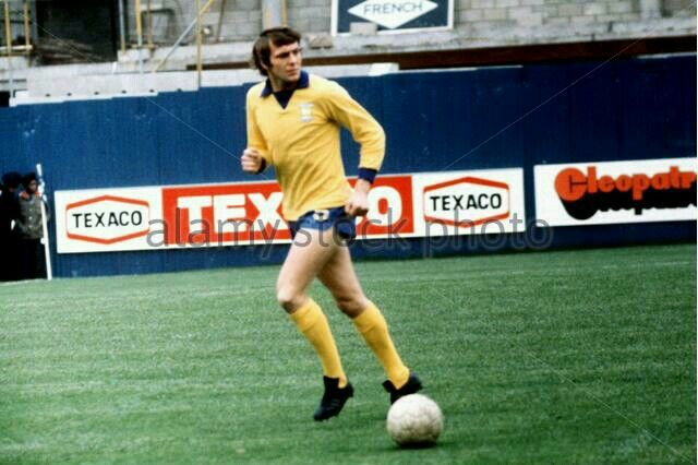 Allan Hunter of Ipswich Town in 1972.