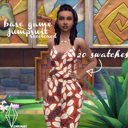 Simmingbee | ◊ BASE GAME JUMPSUIT RECOLORED ◊ ◊ just a