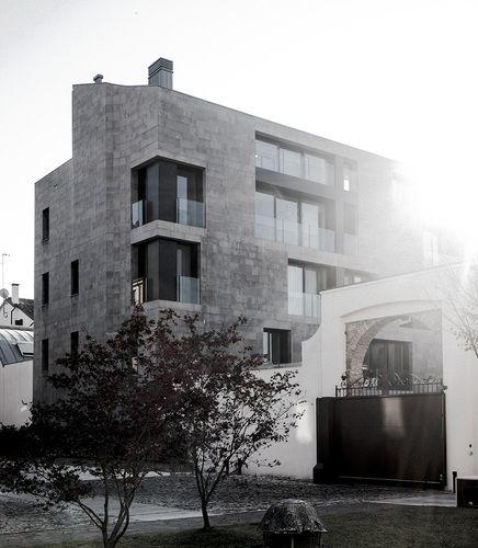 San Francesco Residential Complex by zanon architetti associati #housing #transformation #stone