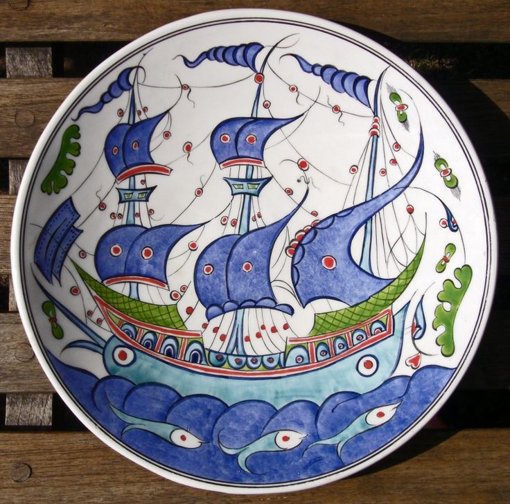 Ottoman Imports | Turkish Delights :: Hand made and hand painted plates, bowls and tiles from Kutahya