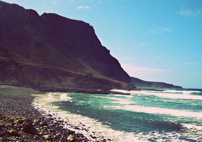 Playa de San Felipe, Grande Canarie - îles Canaries (Espagne)