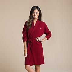 Red Envelope cashmere robe