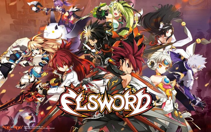 All elsword characters