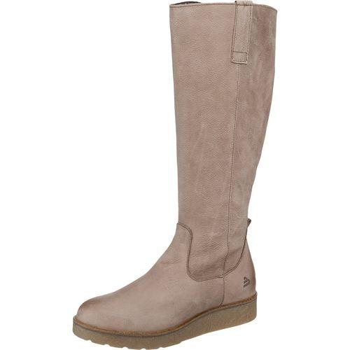 #BULLBOXER #Damen #Stiefel #beige Diese schlichten BULLBOXER Stiefel werden zum tollen Winterbegleiter durch das wasserabweisende Obermaterial aus Leder. Die rutschhemmende und farblich abgesetzte Krepplaufsohle verleiht einen besonderen Akzent und sorgt für einen sicheren Auftritt.