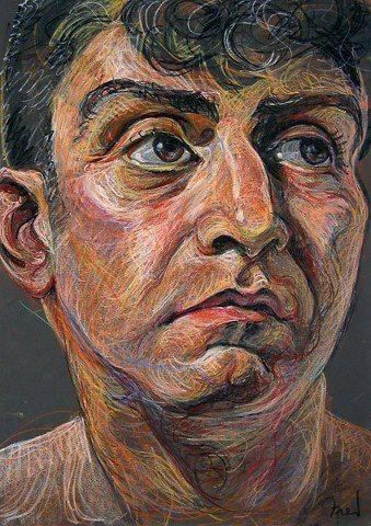 Fred Hatt - love the expressive marks                                                                                                                                                                                 More
