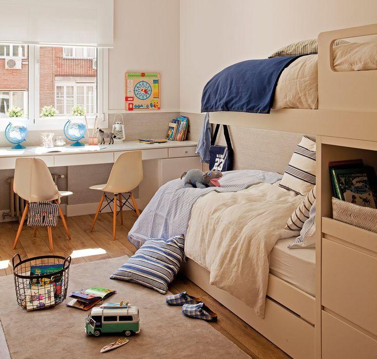 Ideas para ganar espacio en el dormitorio · ElMueble.com · Dormitorios