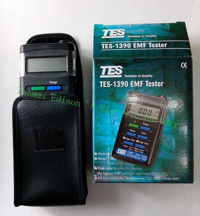 TES1390 EMF Tester Gauss Electromagnetic Field Meter
