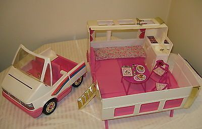 barbie camper van 90's white - Google Search