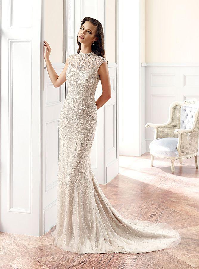 11 best Glamorous Wedding Dresses images on Pinterest | Wedding ...