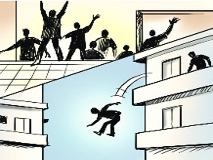 Student jumps from 3rd floor after being caught cheating in exam.!!! Hyderabad – When a 15 year old student was caught #cheating and asked to leave the examination hall, he jumped of the third floor of the #school building. Since the school was covered by #CCTVcameras, #police are analysing the footage to determine whether there was any foul play involved.  Read more:http://timesofindia.indiatimes.com/…/articlesh…/57763873.cms