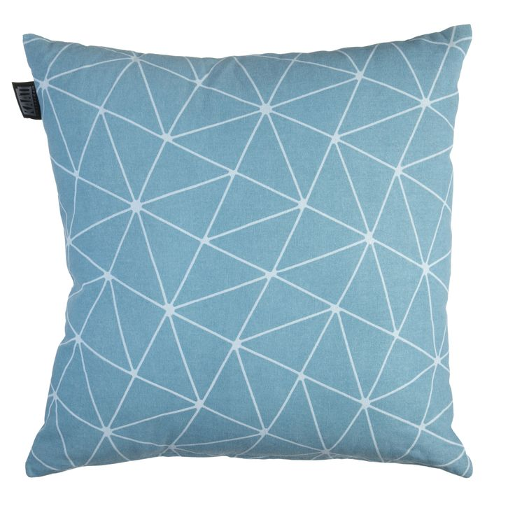 Sierkussen KAAT Matira Bluegreen - NIEUWE COLLECTIE | Cushion KAAT | http://www.livengo.nl/beddengoed/sierkussens | #kussens #blauwgroen #interieur #livengo