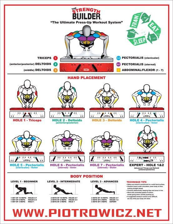 Ultimate Press-up Workout System