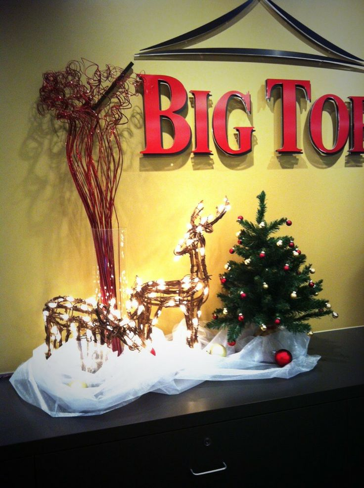 This is how we decorate for Christmas at Big Top Tent Rentals!
