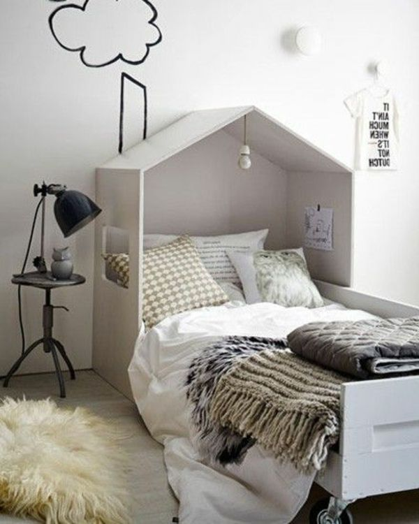 un lit comme cabane pour votre garçon