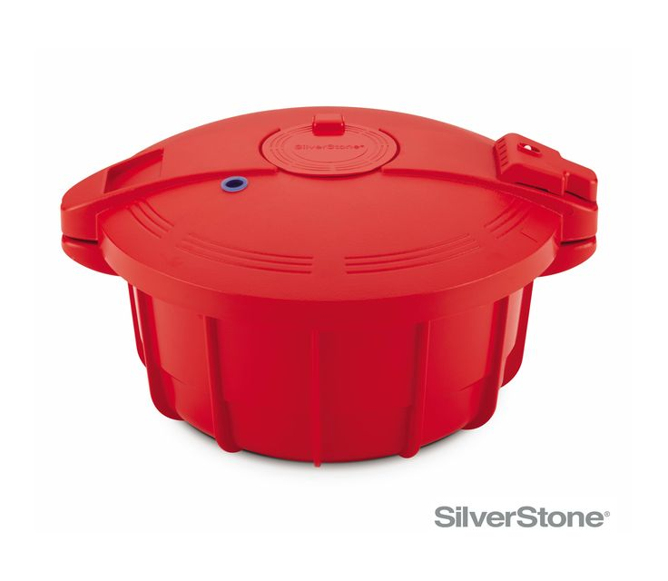 SilverStone® Microwave Cookware 3.4-Quart Microwave Pressure Cooker