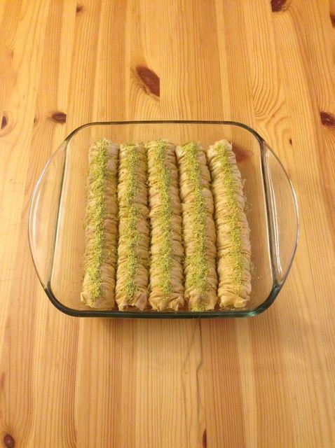 How to Make Baklava Rolls Recipe