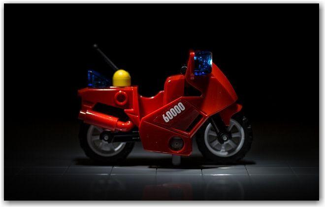 Moto de pompier