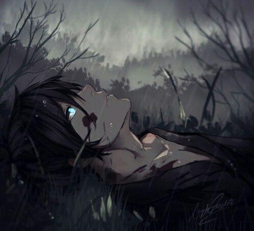 Best 25 dark anime guys ideas on pinterest dark anime - Depressing anime pictures ...