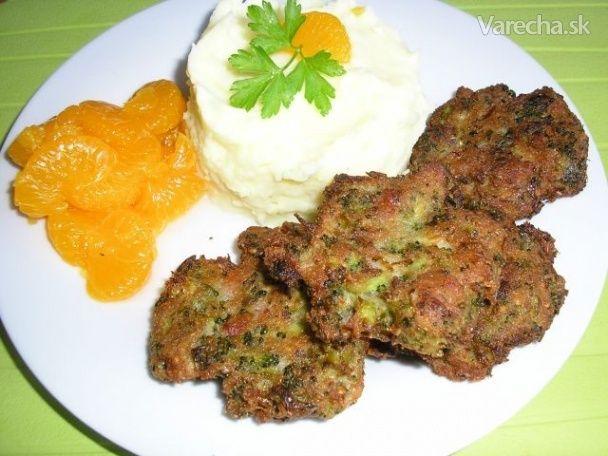 Brokolicové fašírky (fotorecept)