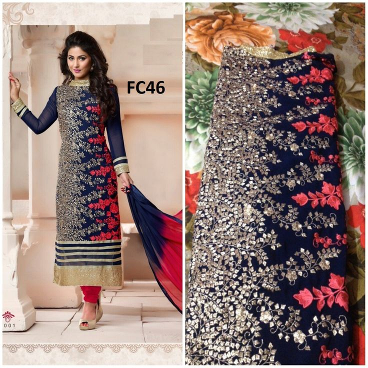 Beautiful Heavy Designer Party Wear Salwar Suit Online.