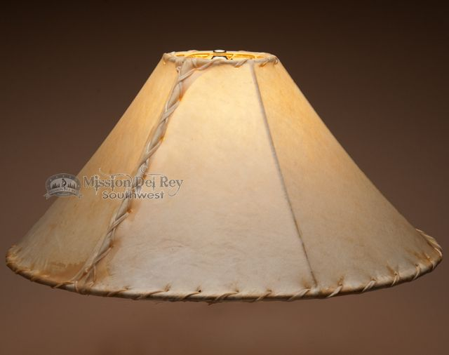 rawhide lamp shades the easiest way to add authentic southwest western or rustic style