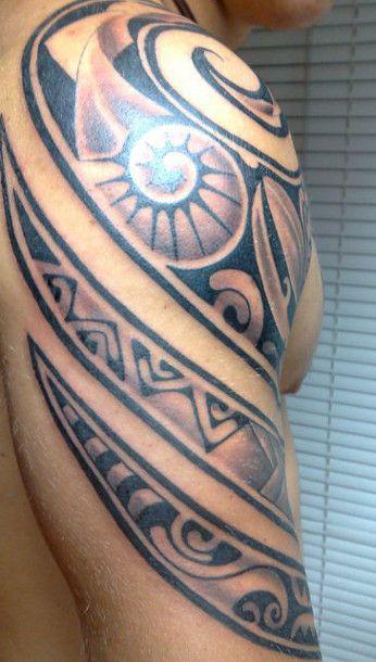 Polynesian Tiki Tattoo Designs: 32 Best Maori Polynesian Tattoo Images On Pinterest