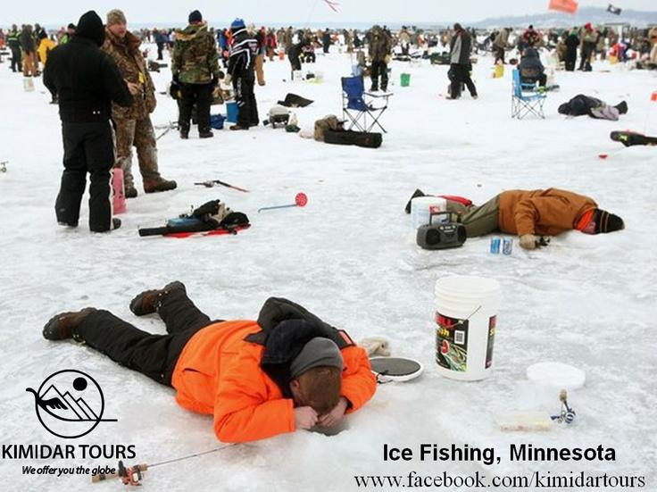 Ice Fishing, Minnesota