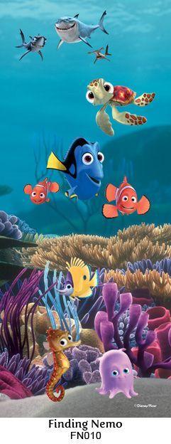 Finding Nemo wall mural