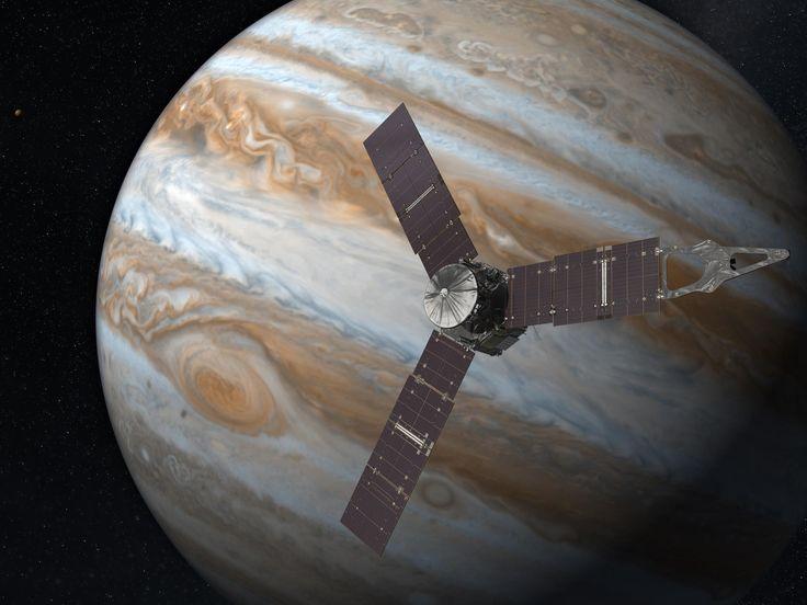 La sonda Juno raggiunge Giove dopo un viaggio durato cinque anni  Alle 5.35  non riuscivo a prender sonno... Non stavo benissimo :(