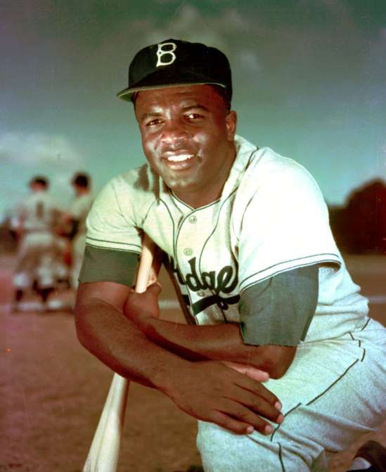 Jackie Robinson: A baseball legend  -  April 15, 2017:     Jackie Robinson and the Dodgers win Brookyn's only World Series title, beating the New York Yankees in seven games.