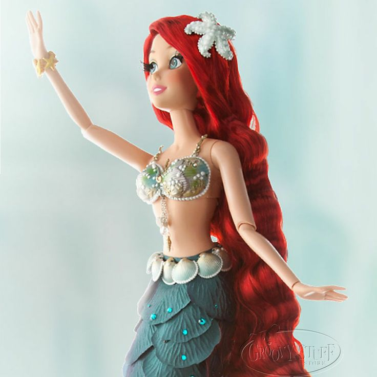 This Is A Beautiful Limited Edition Ariel Doll Disney