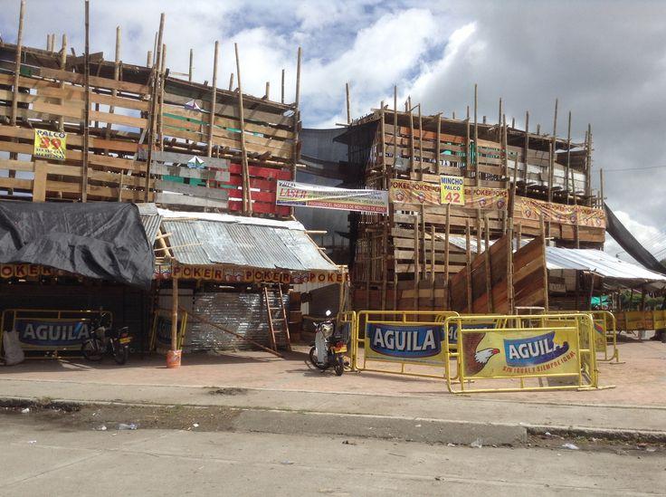 Tradicional plaza de toros Espinal