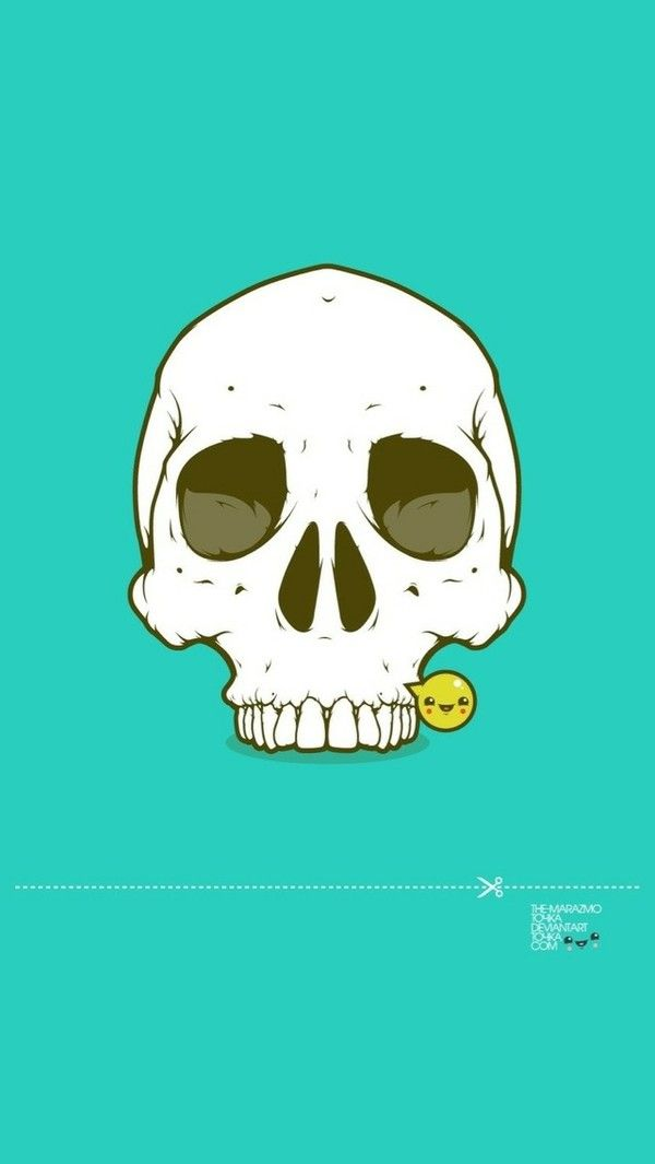 #art illustration skull